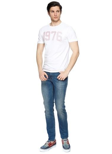 Blend Tişört Beyaz